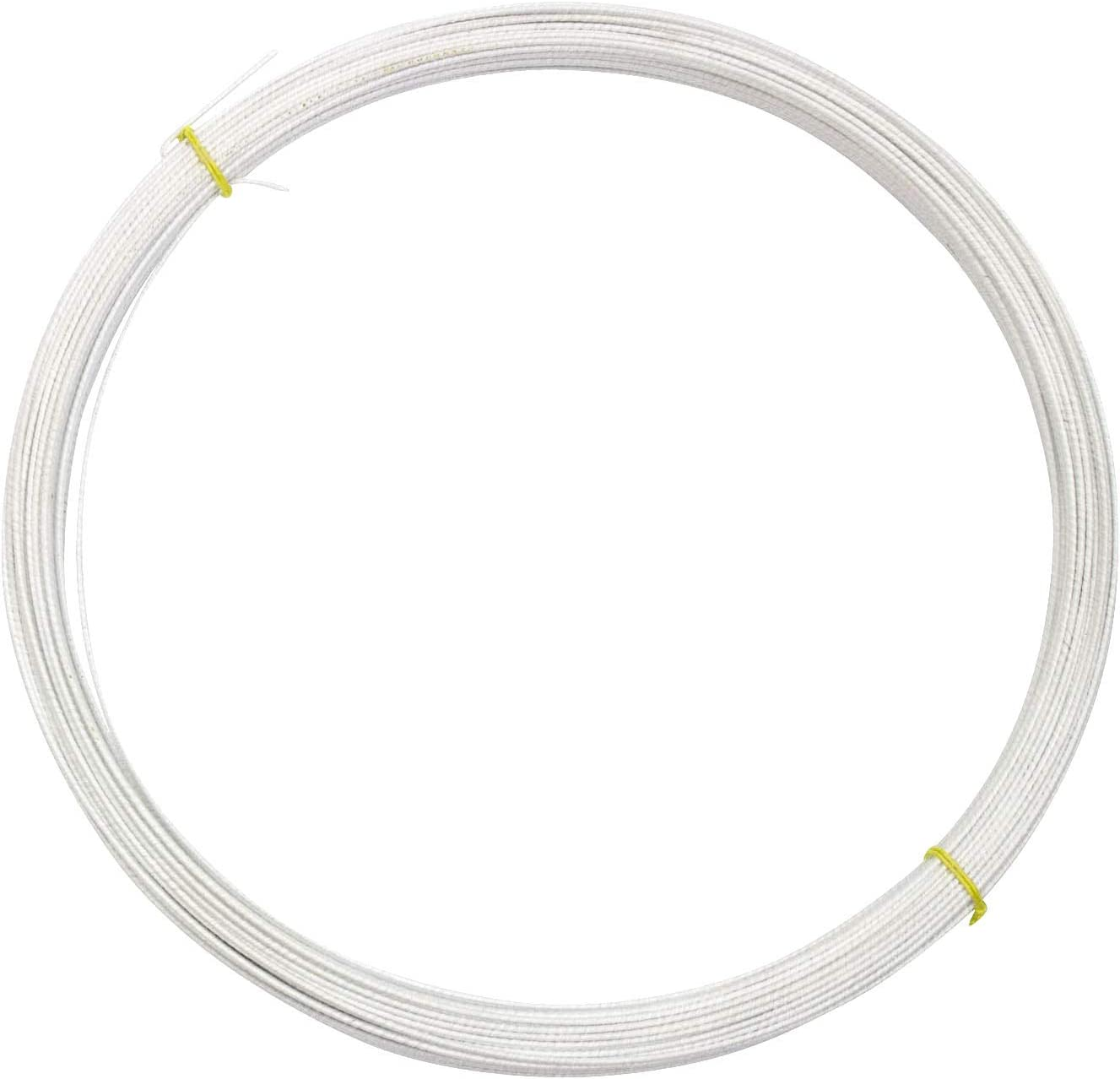 20 Yds 1.5mm Transparent Polyester Plastic Memory Wire for Millinery Hat Brims