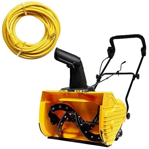 小さいボディでしっかり除雪するHAIGE(ハイガー)電動除雪機「HG-K1650」
