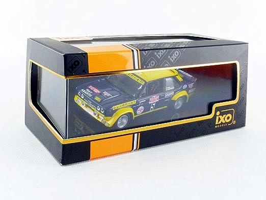 IXO Coche de ferrocarril de Collection, rac266, Azul/Amarillo: Amazon.es: Juguetes y juegos
