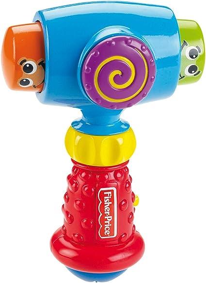 Fisher Price - Martillo risitas (Mattel V5640): Amazon.es: Juguetes y juegos
