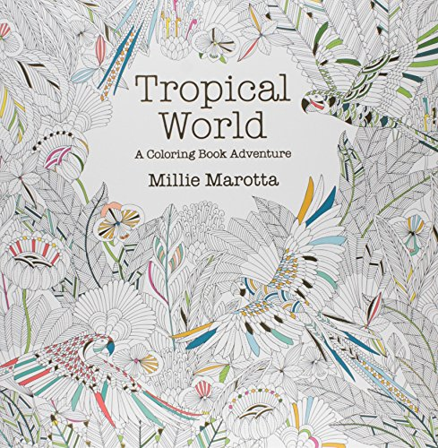 5322f80550f07 You'll probably want to break out your brightest colored pencils and pens  to make the tropical animals of this book really pop.
