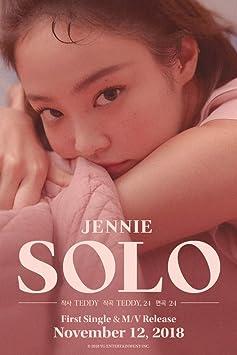 BLACKPINK JENNIE [SOLO] PHOTOBOOK CD+PhotoBook+PostCard+PhotoCard+Tracking Number K-POP SEALED