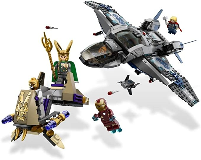LEGO #6869 MARVEL SUPER HEROES AVENGERS QUINJET AERIAL BATTLE  NEW SEAL