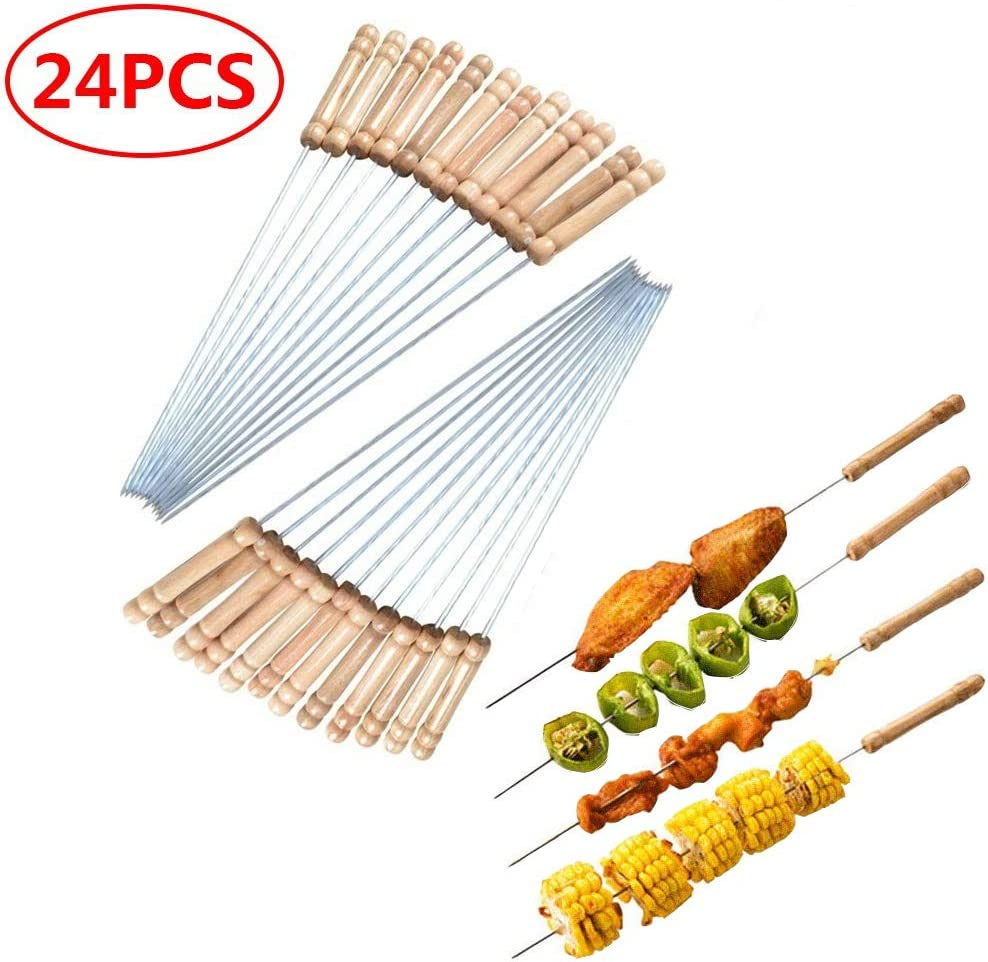 Barbecue Skewers Kitchen & Dining Flat with Portable Tube