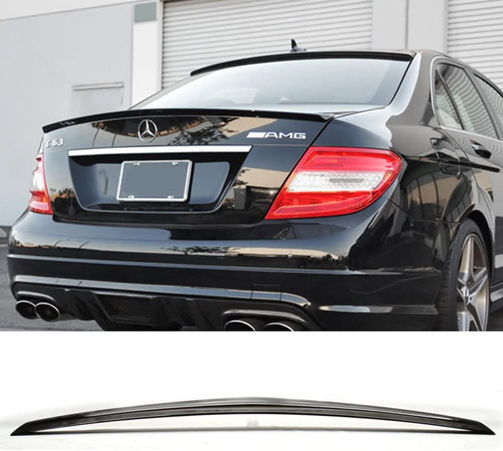 2010 2011 2012 2013 2014 2015 2016 Pre-painted Trunk Spoiler Fits 2010-2016 Benz E-Class W212 AMG Style #040 Black ABS Added On Lip Wing Bodykits other color available by IKON MOTORSPORTS