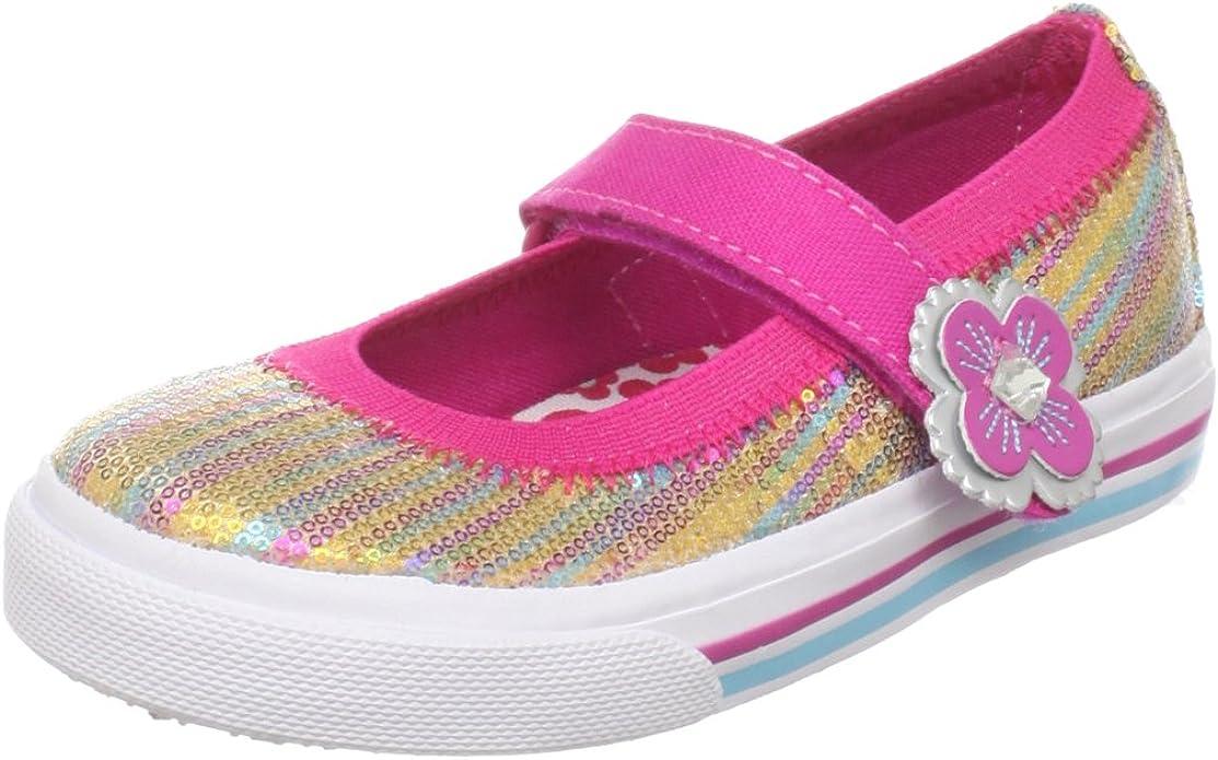 Toddler//Little Kid Keds Glittery Hook /& Loop Sneaker
