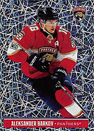 2018-19 Panini NHL Stickers  92 Aleksander Barkov Florida Panthers FOIL  Hockey Card 5332044af