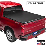 "Tonno Pro Tonno Fold, Soft Folding Truck Bed Tonneau Cover | 42-302 | Fits 2017 - 2020 Ford Super Duty 6'9"" Bed"
