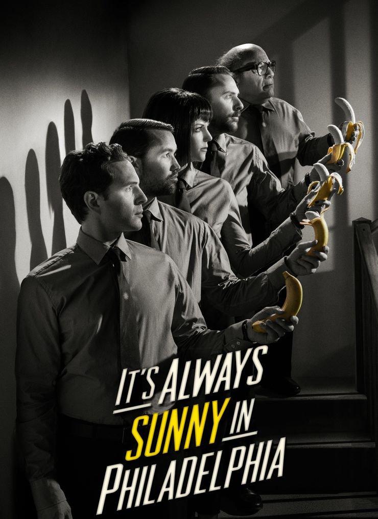 Its Always Sunny in Philadelphia US Drama (24x33 inch, 60x82 cm) Silk Poster PJ1D-018C Wall Station