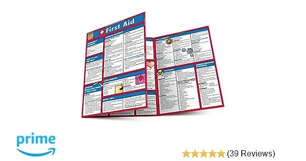 a8a4a6877d First Aid (Quick Study Health): Inc. BarCharts: 0654614206992 ...