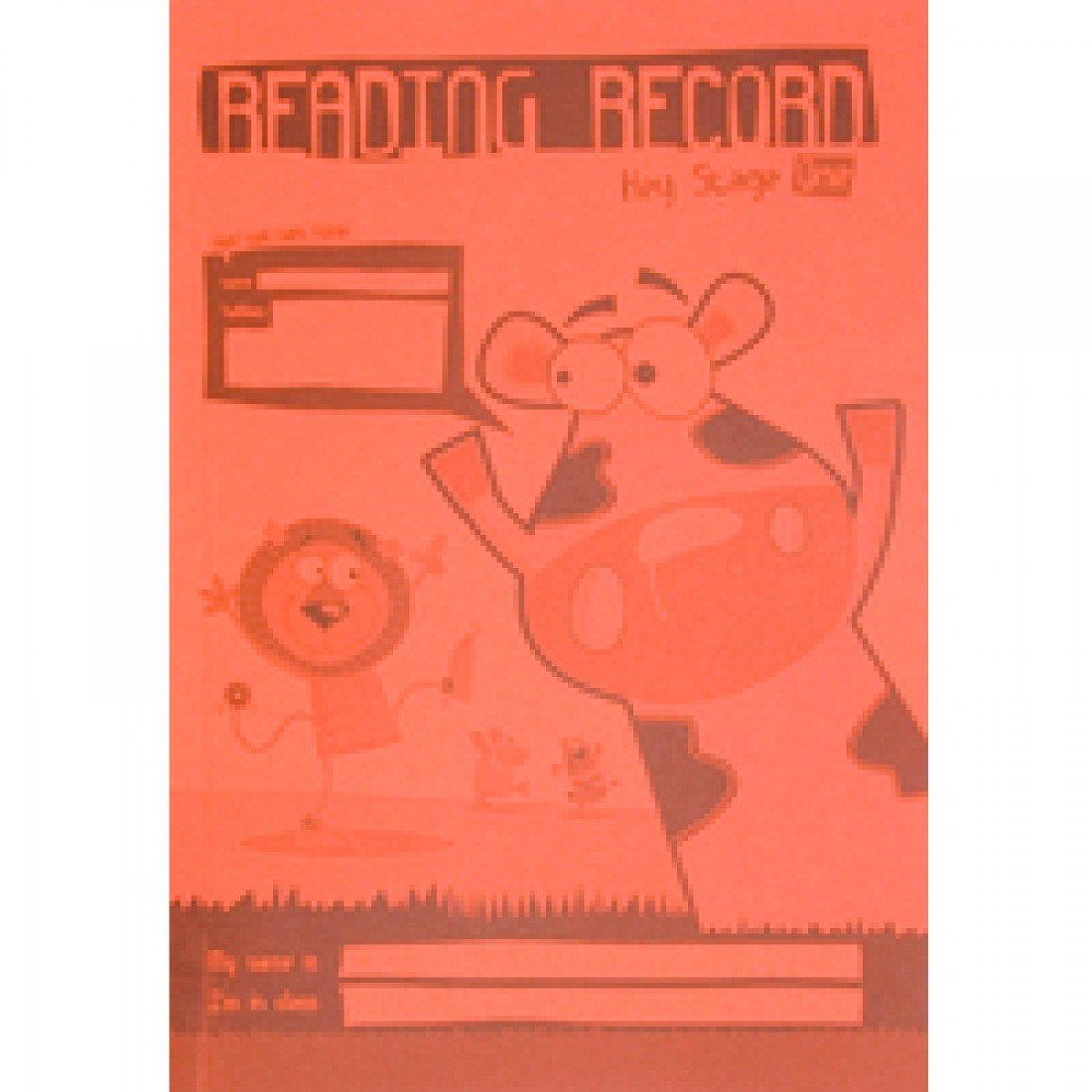Silvine A5 Key Stage 1 Lesen Record – Orange B00HW0M8YM | Zart