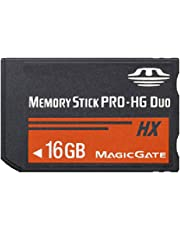 XBERSTAR High Speed Memory Stick MS Pro Duo Memory Card for Sony 8GB 16GB 32GB PSP and Cybershot Camera (16G)