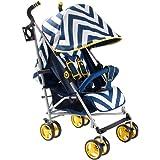 My Babiie MB02 Blue Chevron Stroller