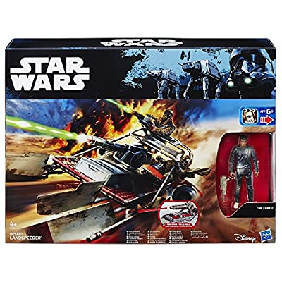 Star Wars The Force Awakens 3.75-inch Vehicle Jakku Landspeeder: Toys & Games