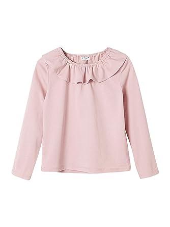 f75142c4faf76 Cyrillus T-Shirt col Pierrot Fille 16A Bois de Rose  Amazon.fr ...