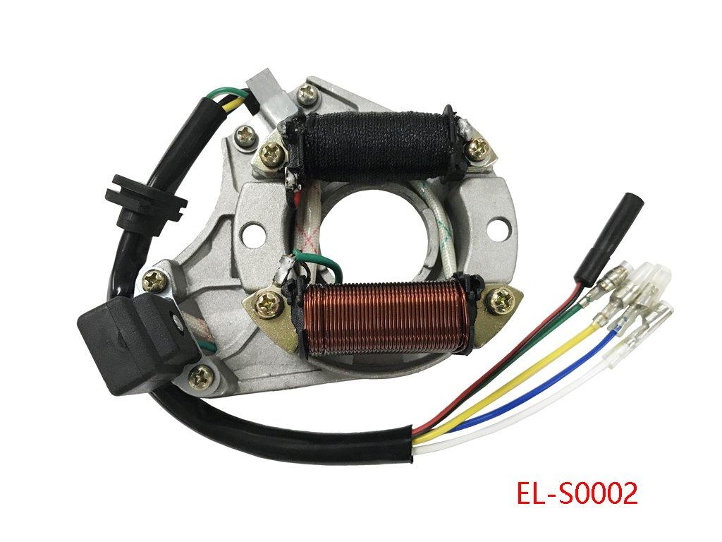 2 Coil Stator Ignition Magneto Plate For 50cc 70cc 90cc Ssr 110 Atv Wiring Diagram 110cc 125cc Quad Chinese Taotao Sunl Jcl Automotive