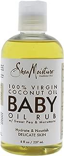 product image for Shea Moisture 100 Percent Virgin Coconut Oil Baby Oil Rub By Shea Moisture for Kids - Oil, 8 Ounce