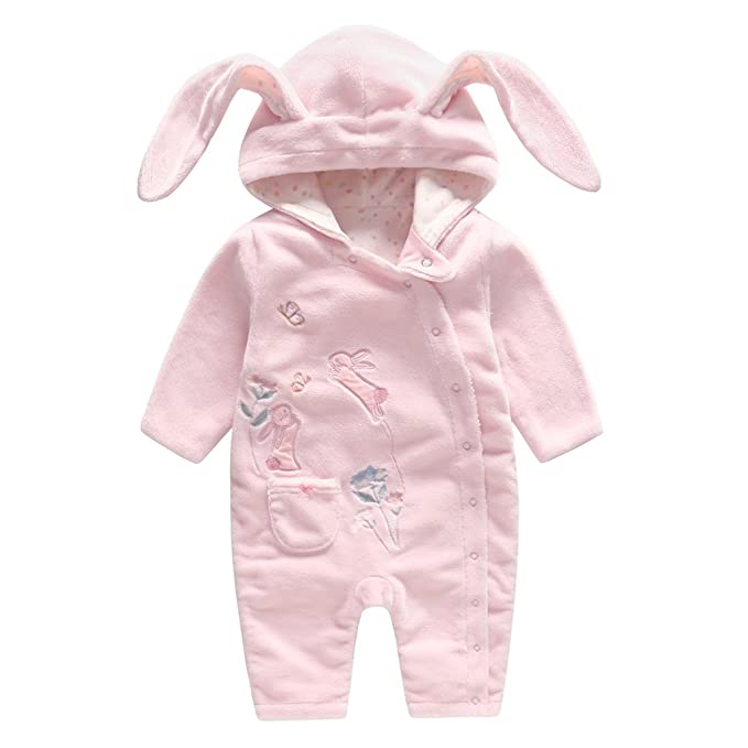 Baby Girls Tutu Romper Sleepsuit Infant Long Sleeve Onsises Footed Coveralls One-Piece Outfits 0-24 Months