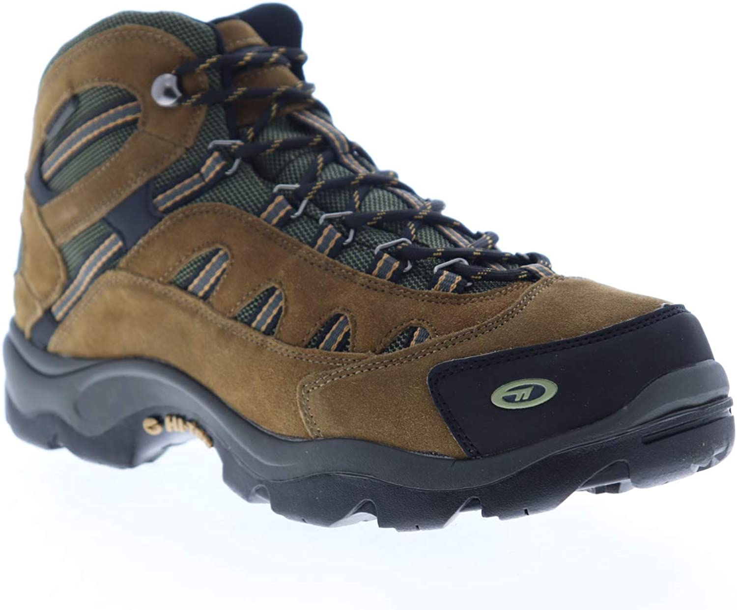 HI-TEC Defiance MID WP Bone Brown Mustard