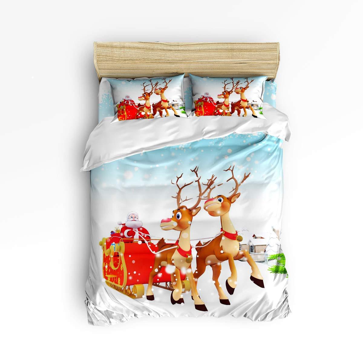 EZON-CH 掛け布団カバーセット 快適な寝具セット グレー大理石タイル ソフトベッドセット 大人 十代 子供 女の子 男の子用 羽毛布団カバー1枚 ベッドシーツ1枚 枕カバー2枚 フルサイズ 181112WHLWHLEZONSJTSLXM01695SJTBEZN B07KFK1Y1Q Christmas773lezn5577 フルサイズ