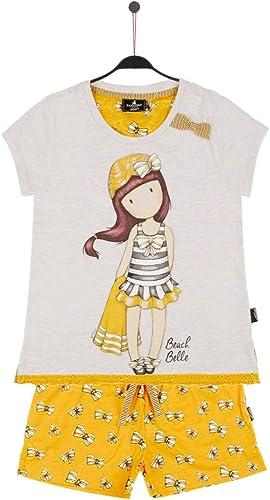 SANTORO LONDON - Pijama Gorjuss Santoro niña Amarillo Mostaza Niñas Color: Mostaza Talla: 12