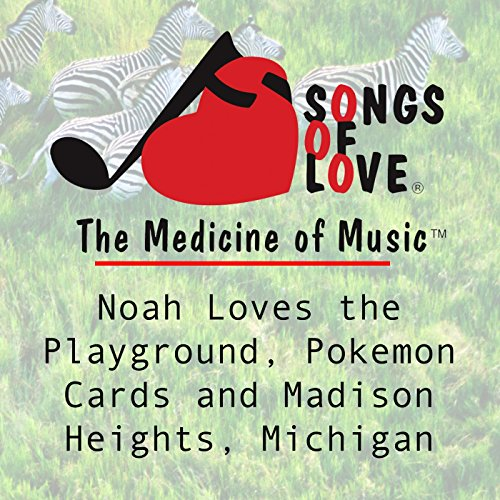 Noah Loves the Playground, Pokemon Cards and Madison Heights, Michigan