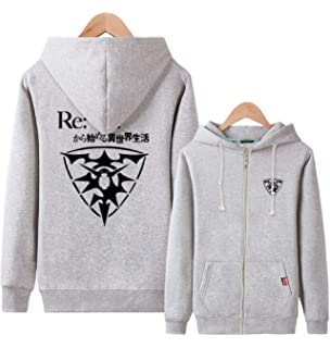 Gumstyle Fate Zero Fate Stay Night Anime Unisex Full-Zip Hoodie Coat Winter Thicken Fleece Warm