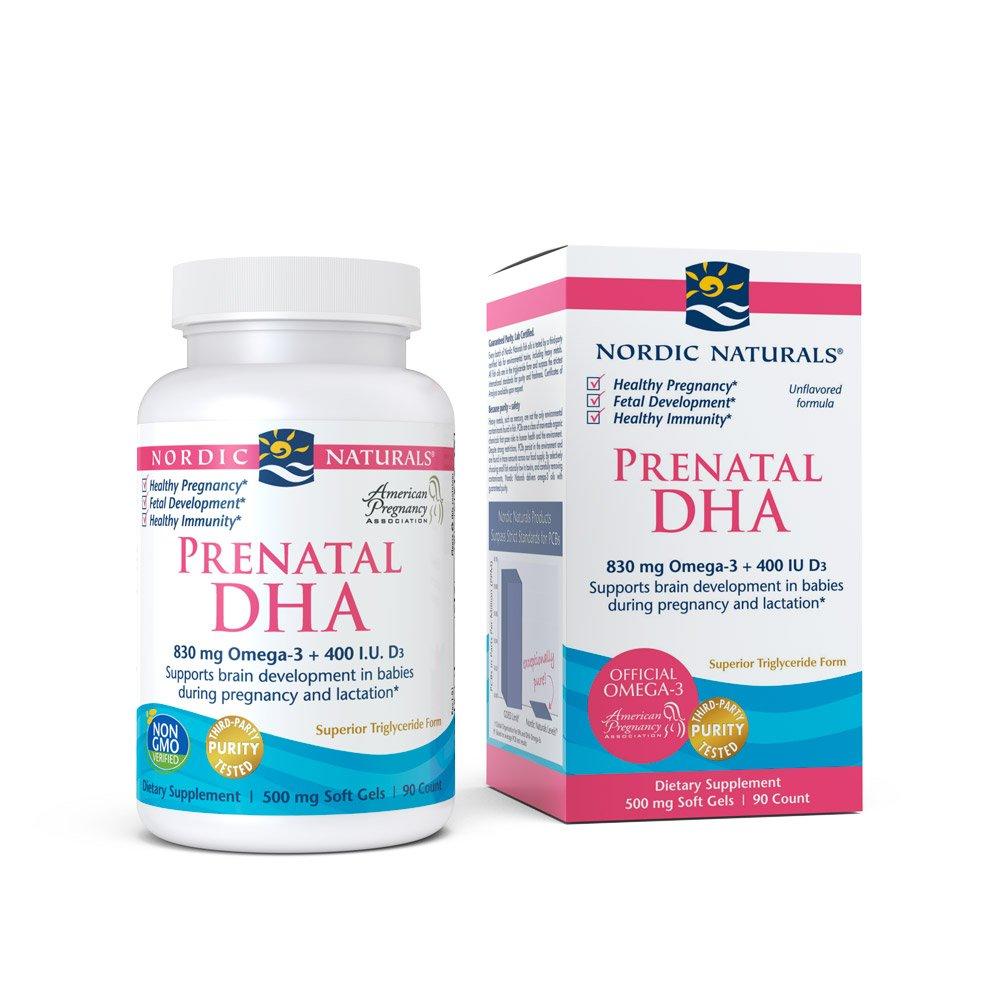 Prenatal DHA Nordic Naturals 90 Softgel