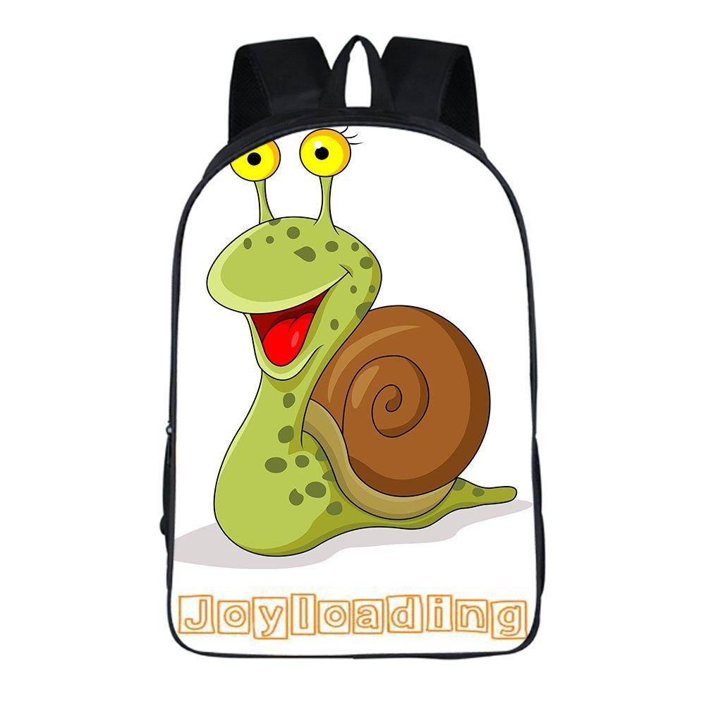 joyloading Cartoon動物子供バックパックSchoolbag Pupils Shoulders Bag Preppyバックパック カタツムリ  B077LSJHGW