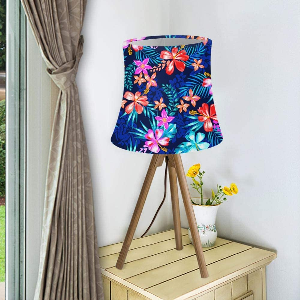 Cubierta de l/ámpara Luz de pared L/ámpara de tela para el hogar Flor L/ámpara de pared moderna Pantalla Cubierta de luz de estilo n/órdico Decoraci/ón de dormitorio CC3013HS-L