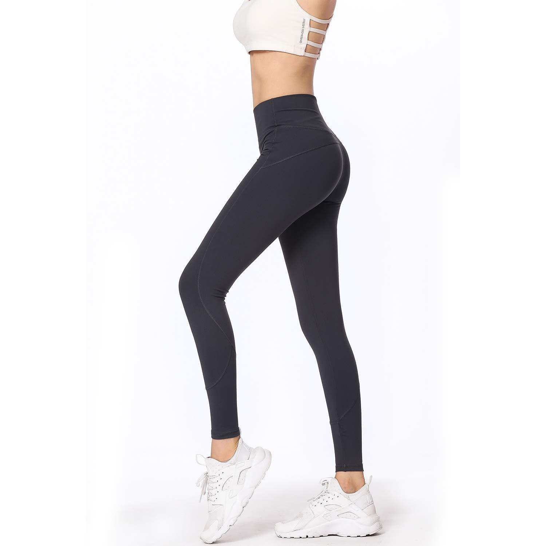 ZMJY Leggings de Tiro Medio, Medias para Mujer Pantalones de Yoga ...