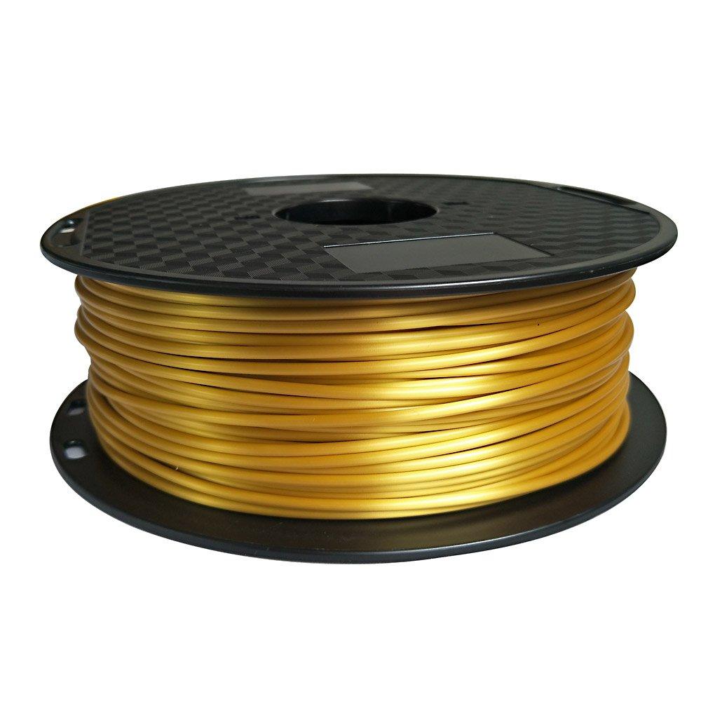 Filamento PLA de oro de seda, 3 mm, 2,85 mm, filamento para ...