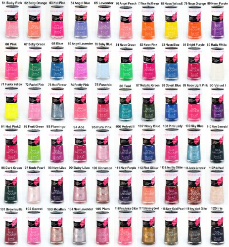 144pcs-Nail-Manicure-Nabi-Nail-Polish-Wholesale-Lot