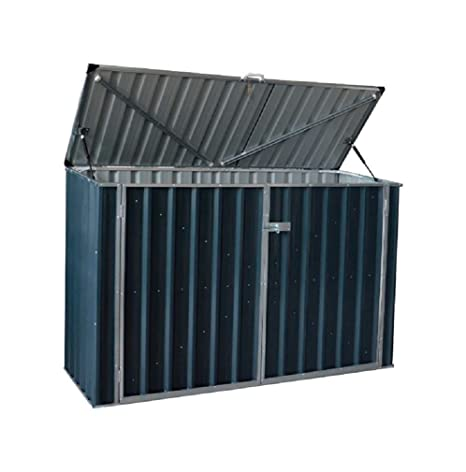 Review Build-well Sw0603fdh-gy Metal Storage Shed, Gray
