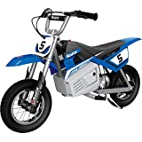 """Razor MX350 Dirt Rocket Electric Motocross Off-road Bike for Age 13+, Up to 30 Minutes Continuous Ride Time, 12"""" Air-filled T"""