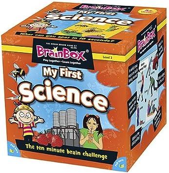 Brain Box- Juego Mi Primera Ciencia Ingles, Multicolor (BrainBox G0990040): Amazon.es: Juguetes y juegos