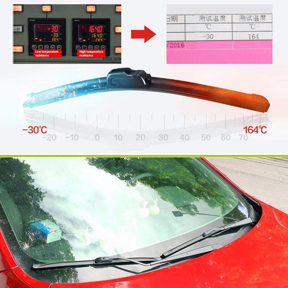 Spazzola tergicristallo per auto Volwco durevole e performante 6 misure