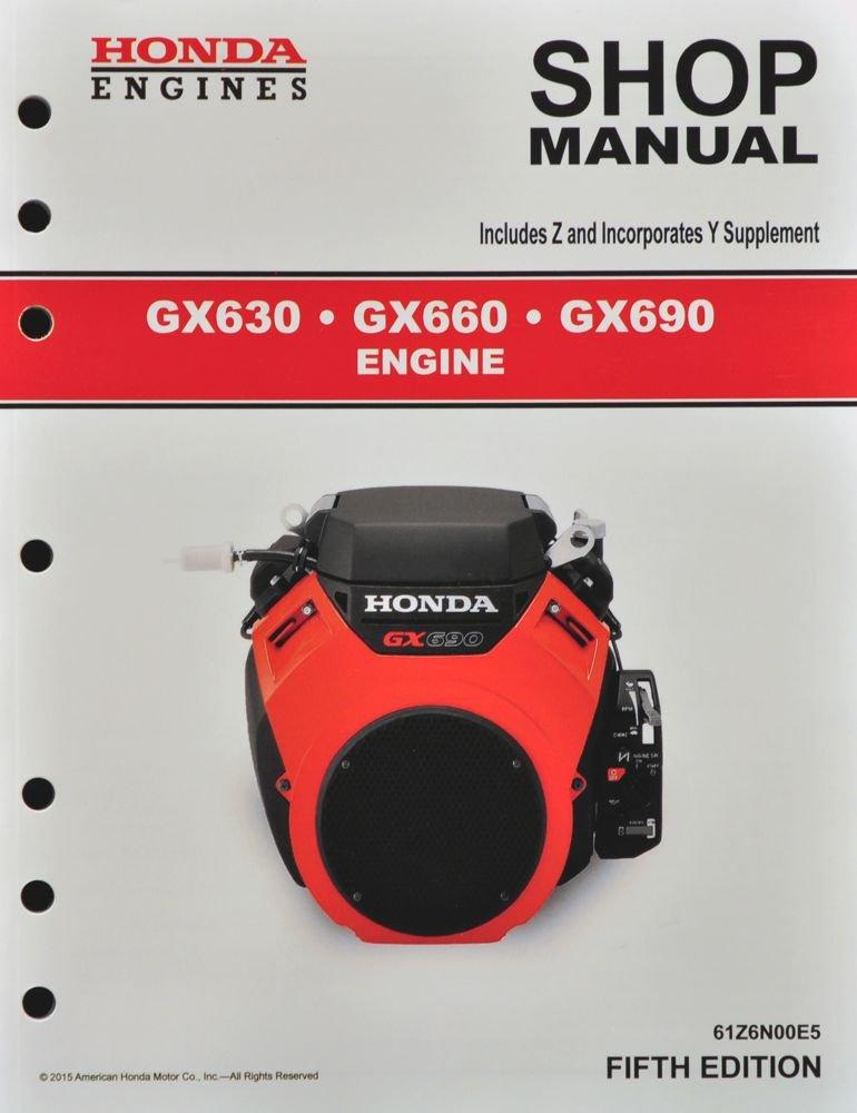 Amazon Honda GX630 GX660 GX690 Engine Service Repair Shop – Honda Gx660 Wiring Schematic