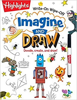 Imagine And Draw Doodle Create And Draw Highlightstm Write On