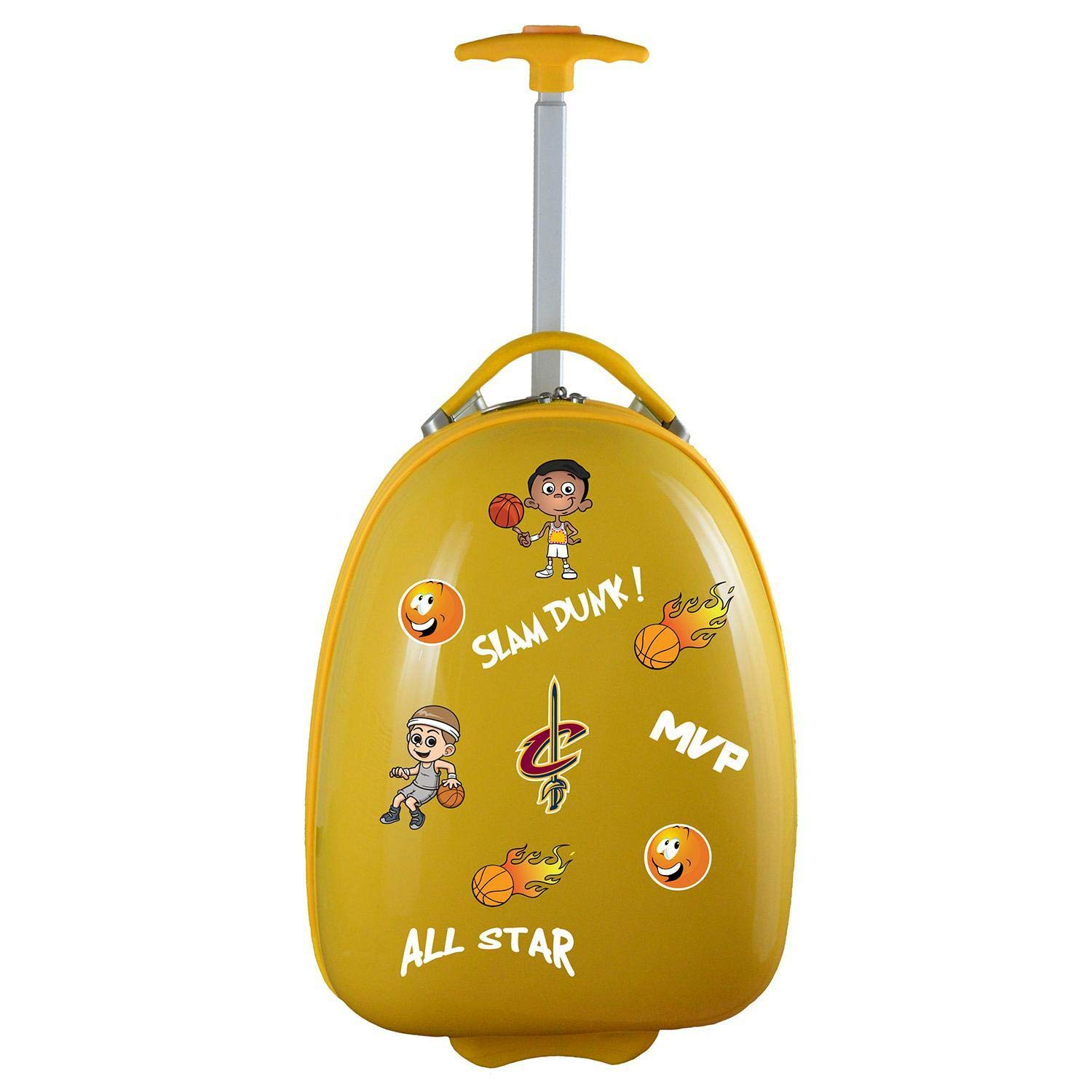 Denco NBA Cleveland Cavaliers Kids Lil' Adventurer Luggage Pod
