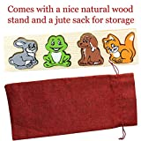 Wooden Puzzle for toddlers Funny Animals Sorting Educational Toy Puzzel