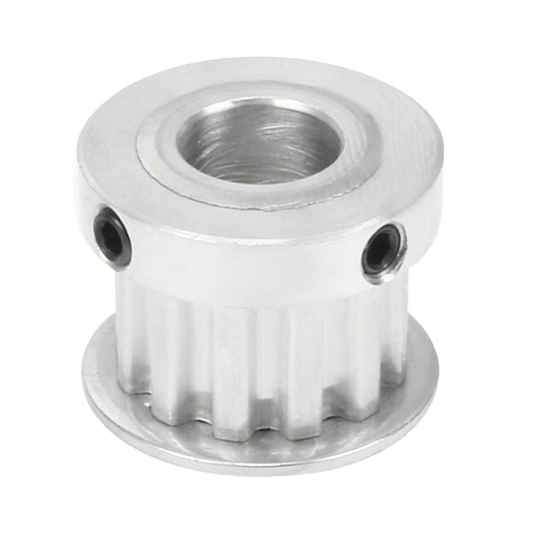 sourcingmap Aluminum GT2 20 Teeth 8mm Bore Timing Belt Pulley Flange Wheel for 3D Printer