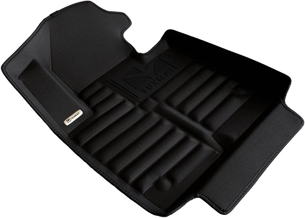 Waterproof TuxMat Custom Car Floor Mats for Hyundai Santa Fe Sport 2013-2018 Models/ - Laser Measured Also Look Great in the Summer./ The Best/ Hyundai Santa Fe Sport Accessory. Largest Coverage The Ultimate Winter Mats All Weather Full S