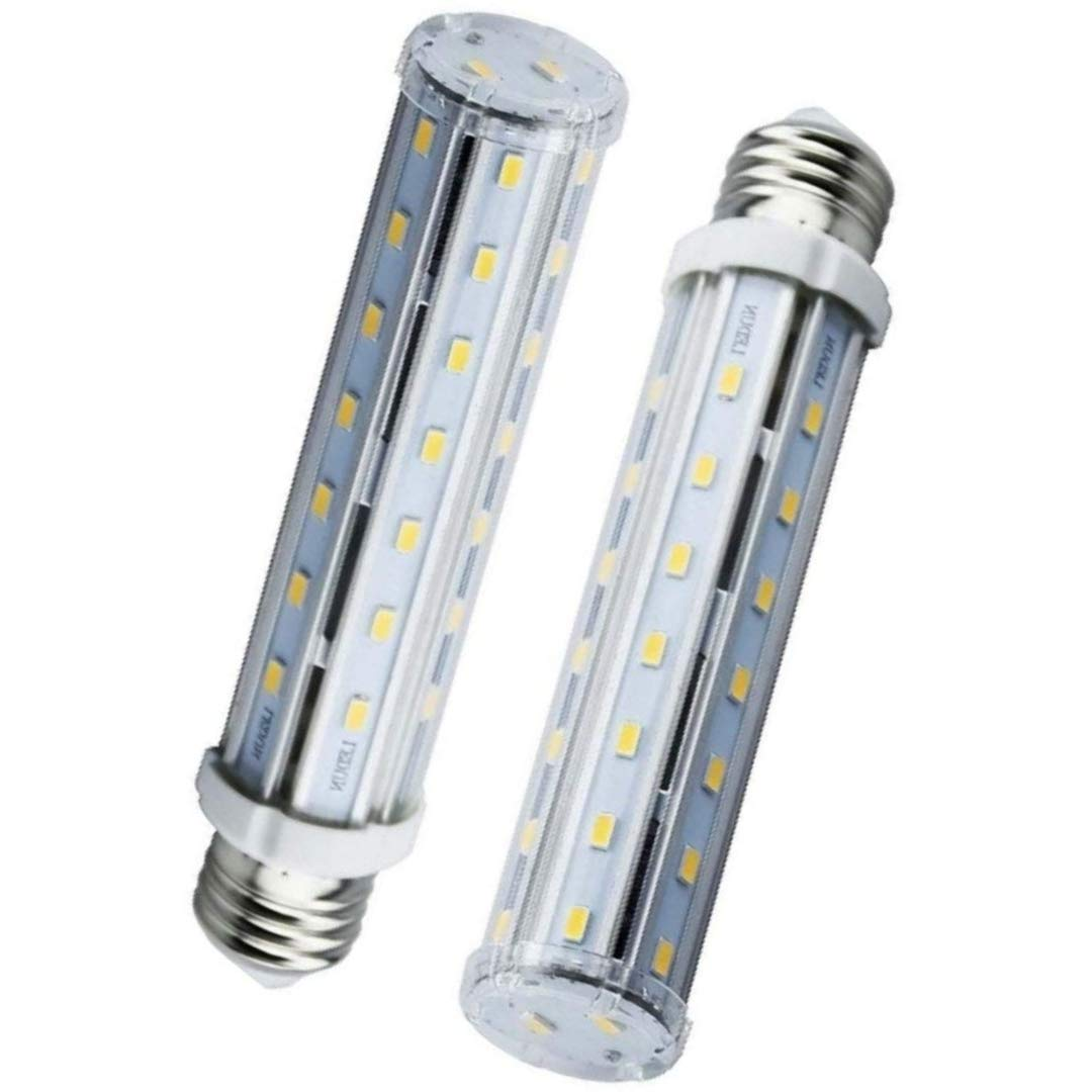 Bonlux 2-pack E26 Medium Screw Base 15W LED Corn Light Bulb Daylight 6000K Replacement for 140W Halogen//Incandescent Bulb T10 Tubular Lamp
