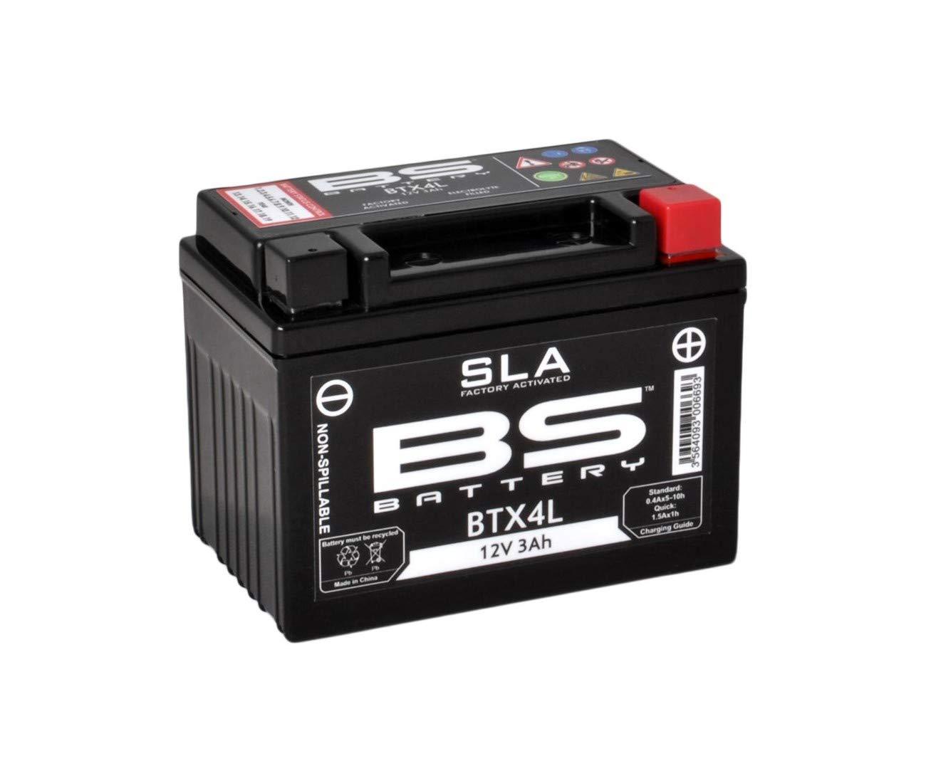 EXC RACING KTM 250/300/350/400/450/500/525-EXC RACING Battery BT4L 1-321047 BS-BS 20257