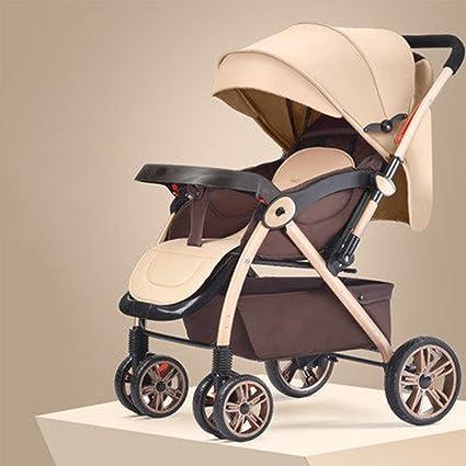 XUERUI Cochecito De Bebé Plegable Del Carro Cómodo Comodidad Hermosa ...