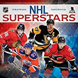 NHL Superstars 2018 Mini Wall Calendar (English and French Edition)