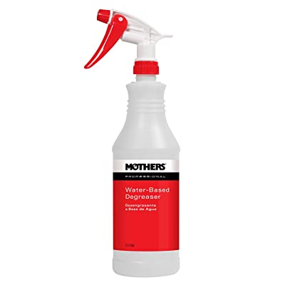 Mothers 87532-12-12PK Professional Water-Based Degreaser Empty Spray Bottle, (Pack of 12): Automotive