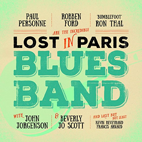 Paul Personne - Lost In Paris Blues Band - CD - FLAC - 2016 - NBFLAC Download
