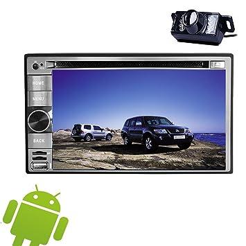 Android 5.1 capacitiva estéreo Navegador GPS Receptor de radio CD Multimedia System FM AM piezas de